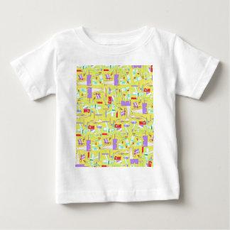 yellow train baby T-Shirt