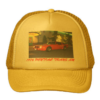 Yellow Trans Am Hat