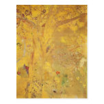 Yellow Tree by Odilon Redon Post Card
