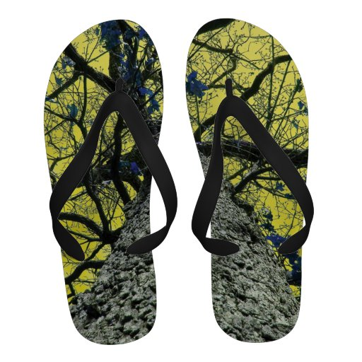 Yellow Tree Perspective Sandals