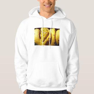 Yellow-tree python, baby hoodie