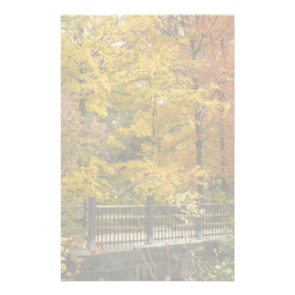 Yellow Trees Of Autumn Customized Stationery