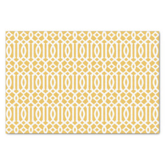 Yellow Trellis | Tissue Paper
