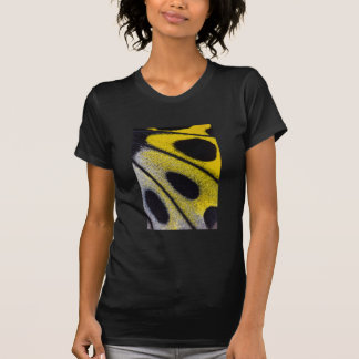Yellow tropical butterfly close-up T-Shirt