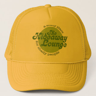 yellow trucker hat
