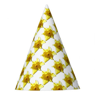 Yellow Trumpet Daffodil 1.0 Party Hat