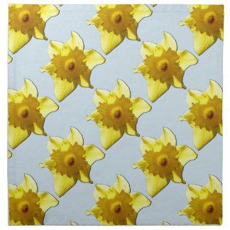 Yellow Trumpet Daffodil 1.2.b Napkin