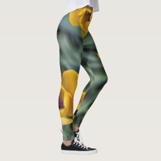Yellow Tulip Leggings