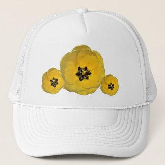 Yellow Tulip on multiple Trucker Hat
