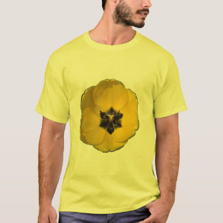 Yellow Tulip on Tan Shirt 6x size