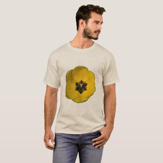 Yellow Tulip on Tan Shirt 6x size