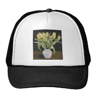 Yellow Tulips Cap