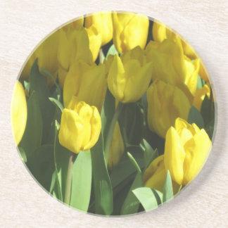 Yellow Tulips coaster