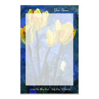 Yellow Tulips Stationery