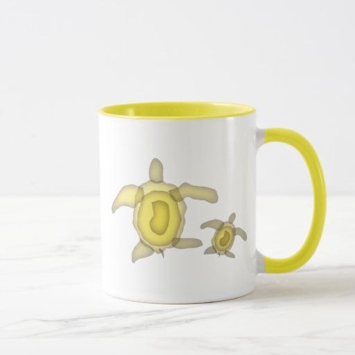Yellow Turtle Mug