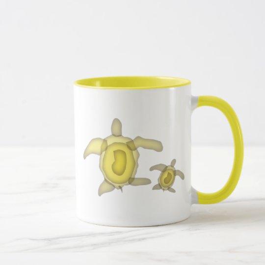 Yellow Turtle Mug