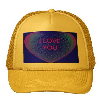 YELLOW VALENTINE Hat