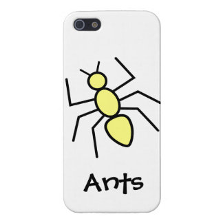 Yellow Vector Ant Covers For iPhone 5