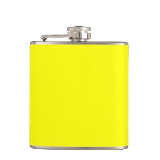 Yellow Hip Flasks