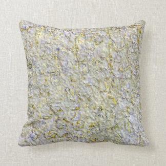 Yellow wall background cushion