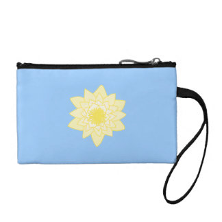 Yellow Water Lily. Coin Purse