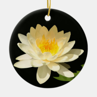 Yellow Waterlily Ornament