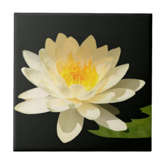 Yellow Waterlily Tile