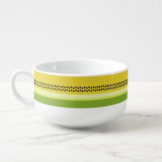 Yellow Watermelon Slice Soup Mug