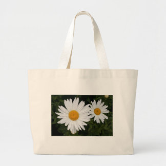 Yellow white Daisies flowers in bloom Bag