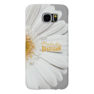 Yellow White Gerbera Daisy Galaxy SIII Case