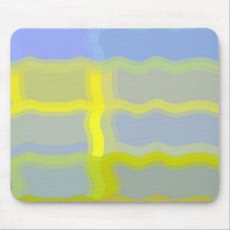 Yellow Wiggle Mousepad