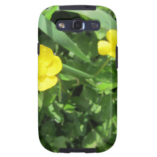 Yellow Wildflower Galaxy S3 Cases