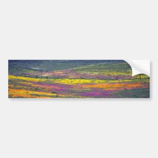 Yellow Wildflower field flowers Bumper Stickers