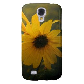 yellow wildflower galaxy s4 case