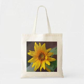Yellow Wildflower Tote
