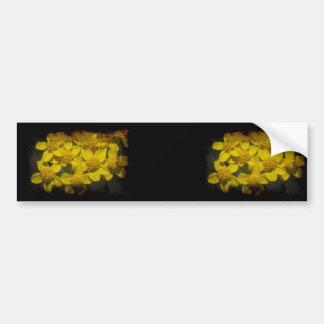 Yellow Wildflowers Bumper Sticker