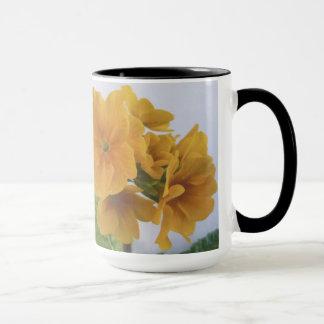 Yellow Winter Flowering Pansy Mug