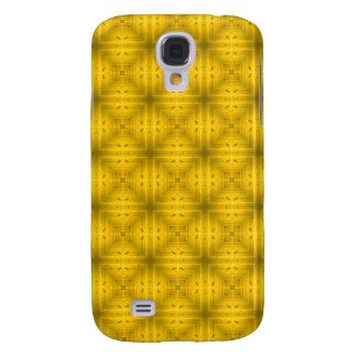Yellow Wood Pern Galaxy S4 Case