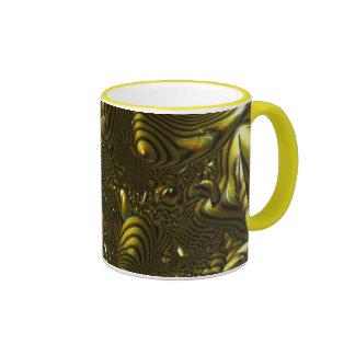 yellow world ringer mug