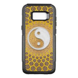 Yellow Ying Yang Mandala OtterBox Commuter Samsung Galaxy S8+ Case