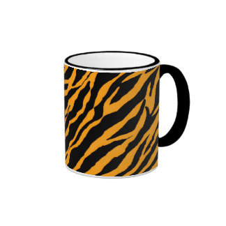 Yellow Zebra Coffee Mug