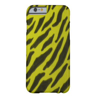 Yellow Zebra Print Barely There iPhone 6 Case