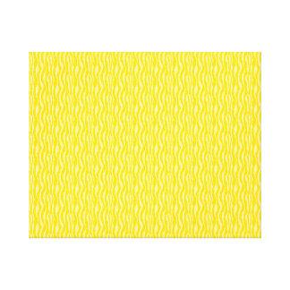 Yellow Zebra Print Pattern