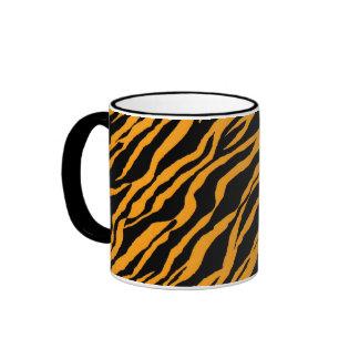 Yellow Zebra Ringer Mug