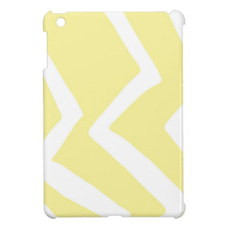 Yellow Zig Zag Design Pattern Artwork Case For The iPad Mini