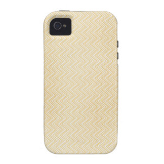 Yellow Zig Zag Pattern Case-Mate iPhone 4 Covers
