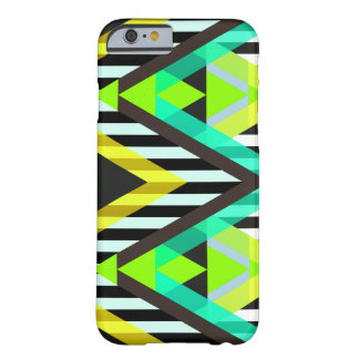 Yellow Zigzag Pop Aztec Barely There iPhone 6 Case