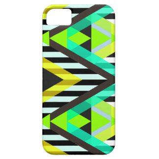 Yellow Zigzag Pop Aztec iPhone 5 Cases