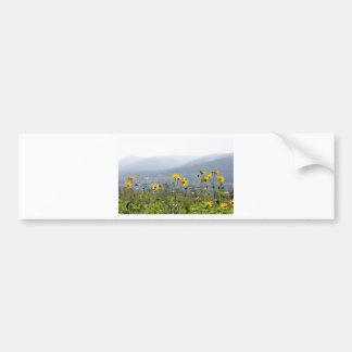 yellowflower bumper sticker