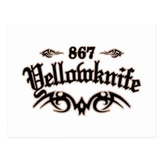 Yellowknife 867 postcard
